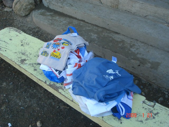 Collection of Finisher's Shirts To Be Donated