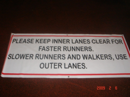 Two More of This Signage Had Been Ordered To Be Placed On The Entrance To The Oval