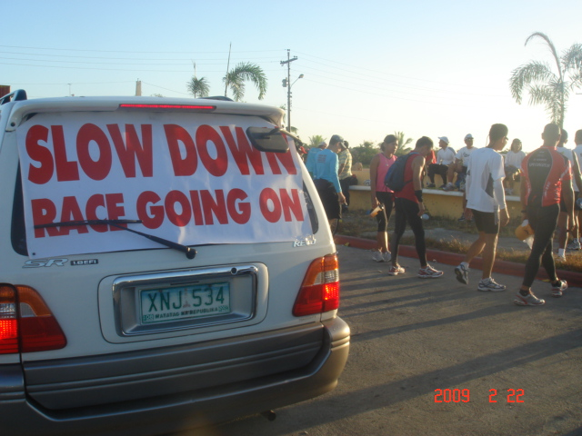 Tarpaulin Signs For Support Vehicles