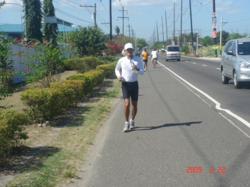 At The Lubao-Guagua Road/National Highway At Vicinity Km # 75