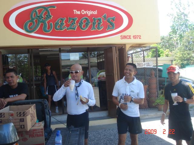 Eating Halo-Halo at Razon's in Guagua, Pampanga