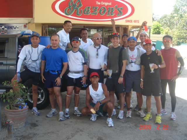 Group Picture Before Starting Our Last 11K Leg