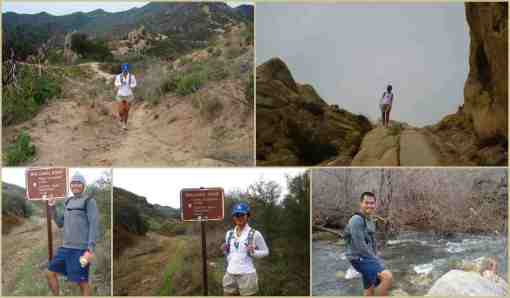 John Paul & Jovelle at Bulldog Trail-Malibu Creek State Park