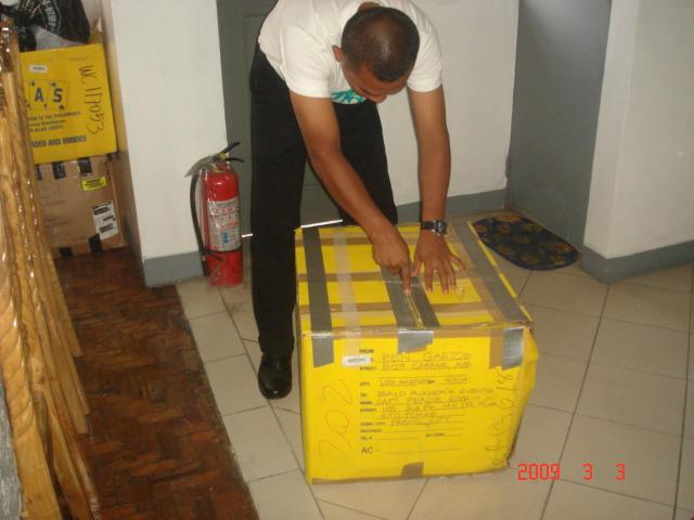 Balikbayan Box From Ben Gaetos
