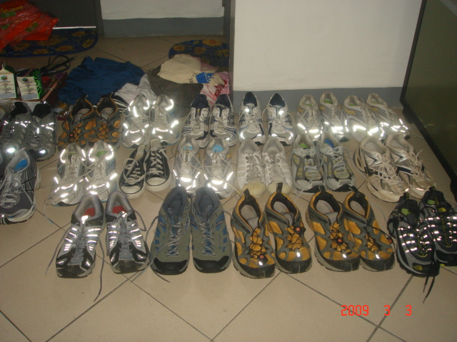 Donated Shoes From Ben Gaetos & Carmela Layson