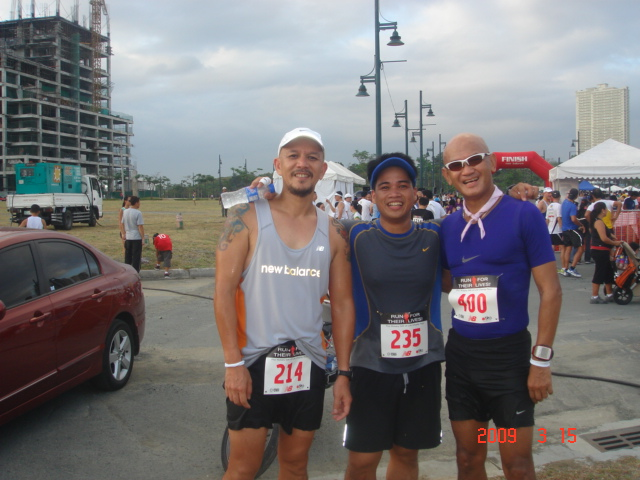 A Pose With Jonel & Ilo After The Race Who Finished With PRs (Again!)