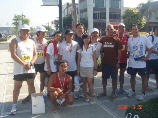 The Members of AGTARAY Running Club of Vigan, Ilocos Sur