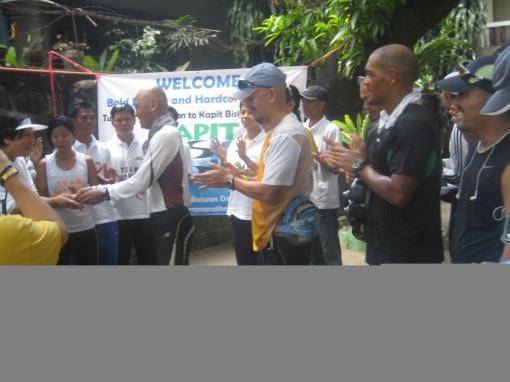 """Turn-Over Of Contribution To """"Kapit-Bisig Para Sa Ilog Pasig"""""""