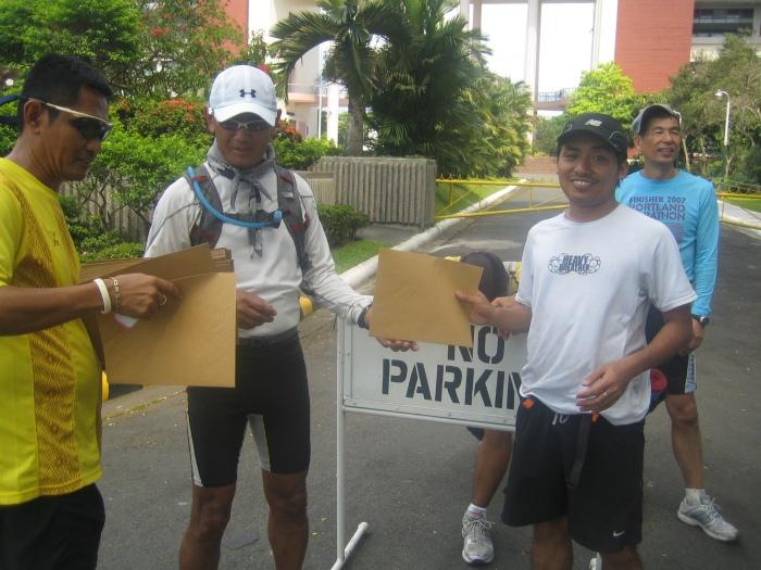 "Awarding of Bataan 52K ""Test Run"" Certificates"