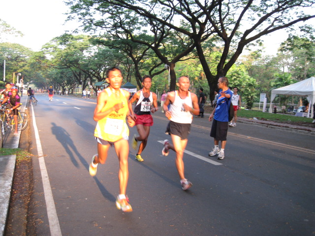 Team BR's Elite Cris Sabal Leading The Race