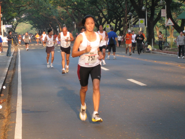Team BR's Elite Ellen Tolentino Winning The 10K Ladies Division