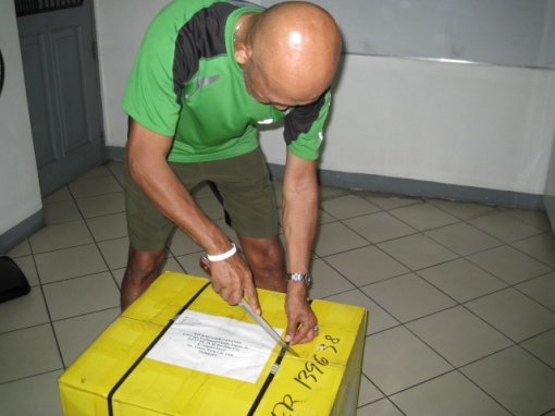 "Balikbayan Box From Joe Matias aka ""A Running Shoe Guru"""