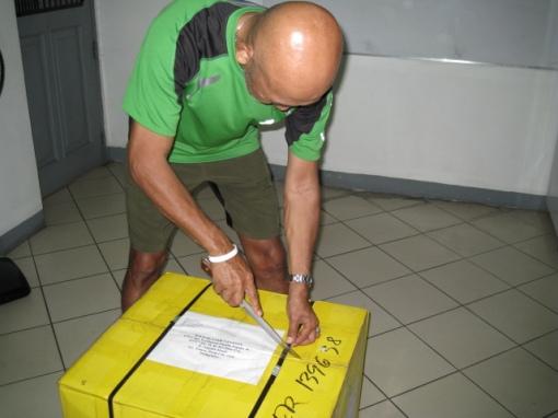 "Balikbayan Box From Joe Matias aka ""A Running Shoe Guru"""