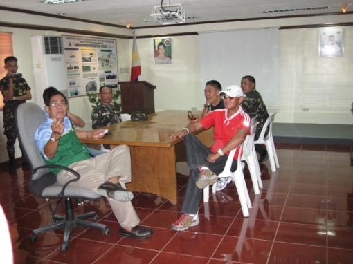 Briefing With Col. Jameel Jaymalin (Ret.), Head, Payatas Dumpsite