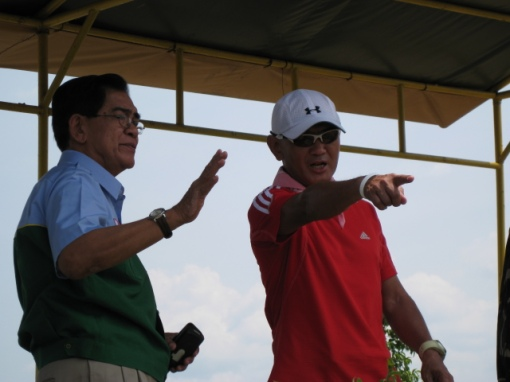 Pointing at The Dumpsite