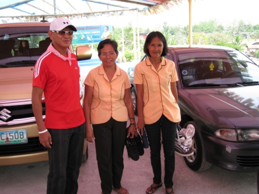 Barangay Hall Staff of Brgy. Lupang Pangako With Their Shoes For Their Husbands & Children