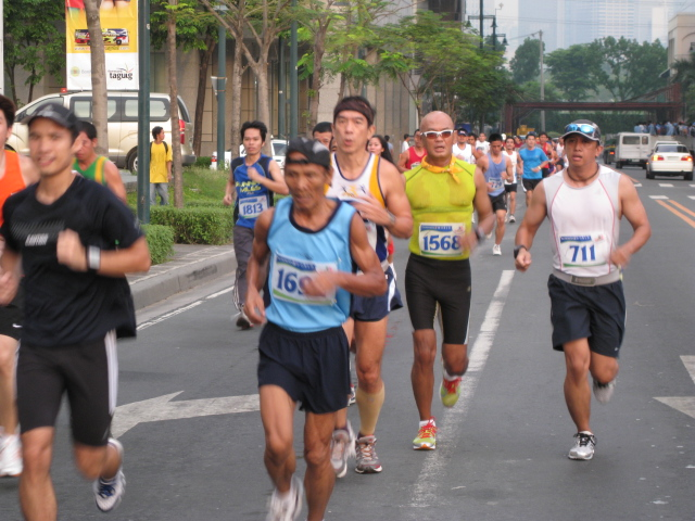 Mari Javier Ran With Us For the 1st 3 Kms