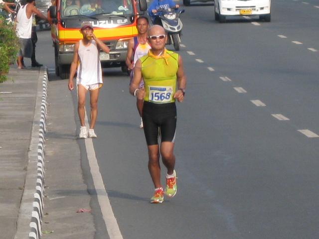 Running Along Lawton Avenue