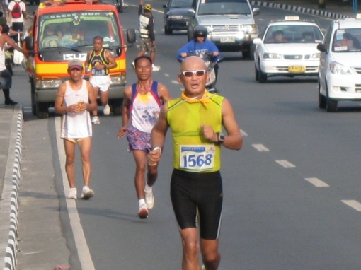 A Closer Look During The Race