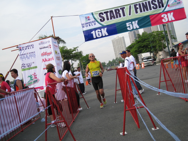 At The Finish Line...