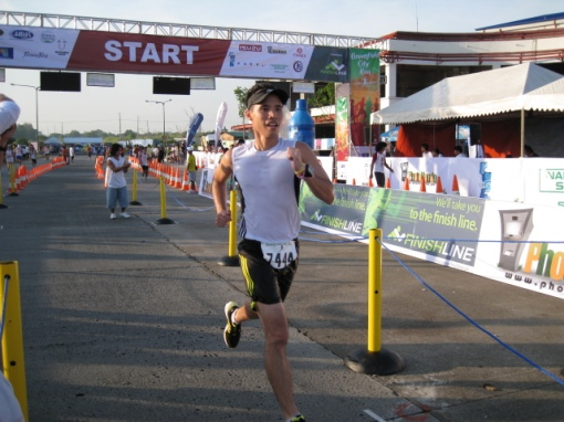 Mari Javier of Team BR-Professional Group Finishing The Race