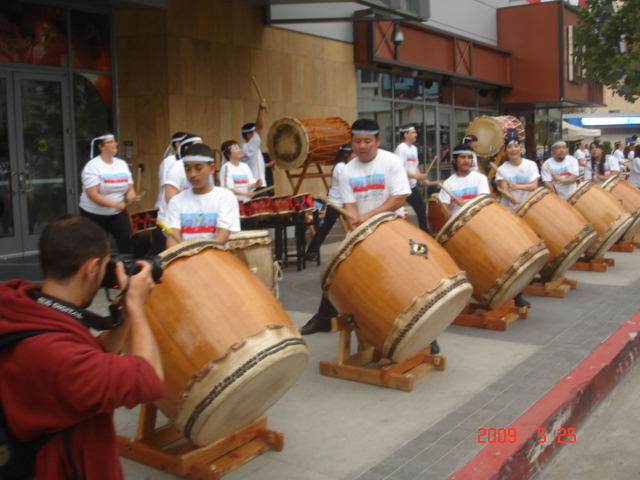 Big Drums on the 1st Mile