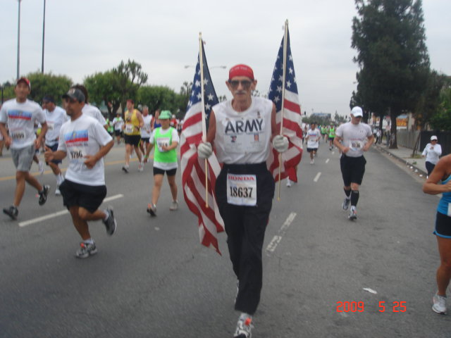 A US Armed Forces Veteran & Marathon Runner