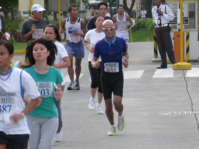 Last 100 Meters To The Finish Line