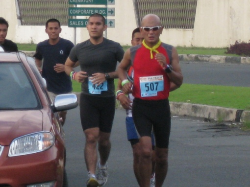 1st 20K of the Race
