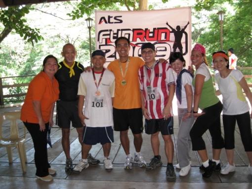 Top 3 Winners of the 2-Km Fun Run
