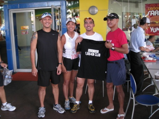 Ultramarathoner Armand Fernando (Witnessed by Jonel & Ivy)