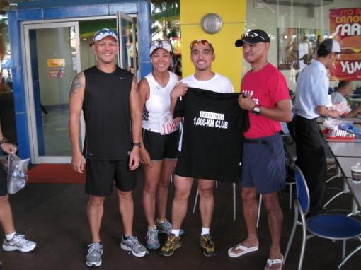 Ultramarathoner Armand Fernando (Witnessed by Jonel & Ivy)