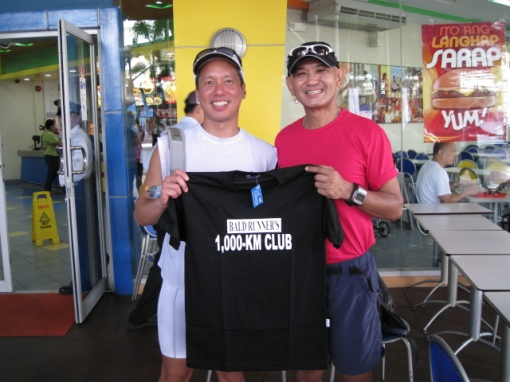 Ultramarathoner Jay Lee C-U of Hardcore Group/Power Runners