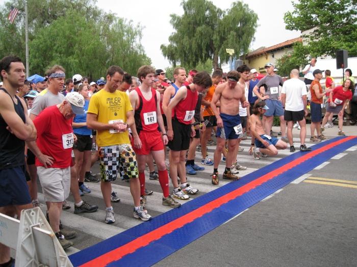 RFID/ChronoTrak Timing Carpet at The Starting Line