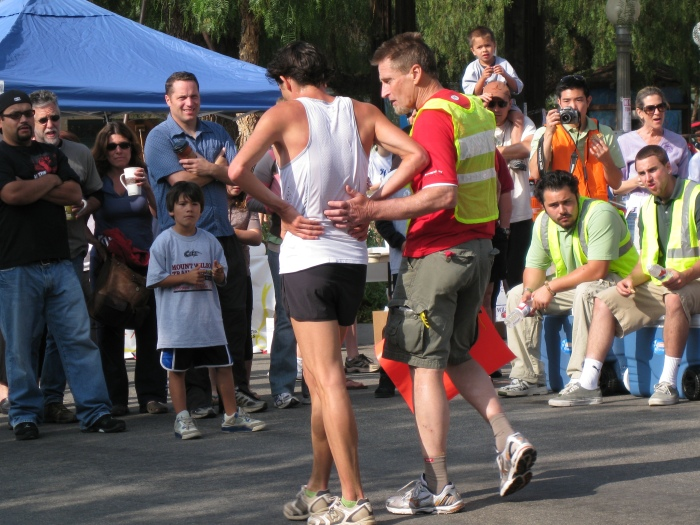 """James """"Jay-Jay""""Timphony (Race Bib #1) Finished The Race in 1:00:35 Hours"""