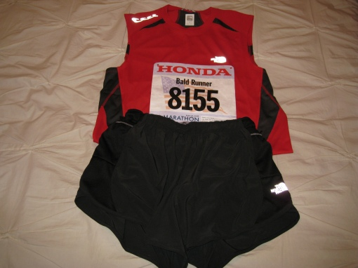 Jundel, Look!...I am Using The North Face Running Kit!!!