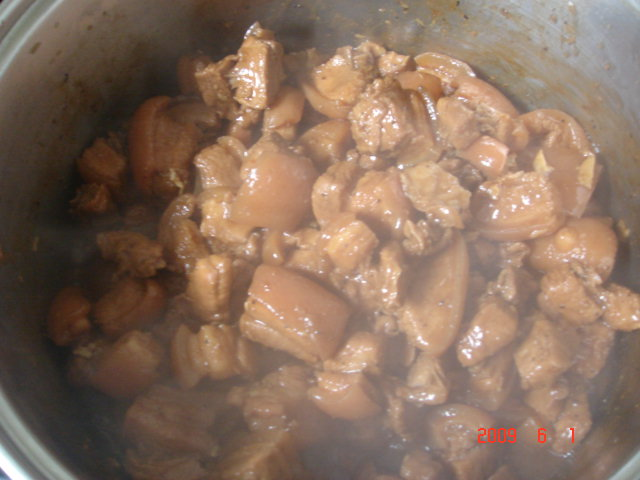Very Hot Pork Adobo!