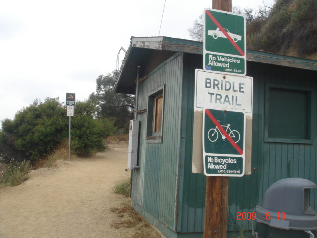 The Entrance To Bridle Trail