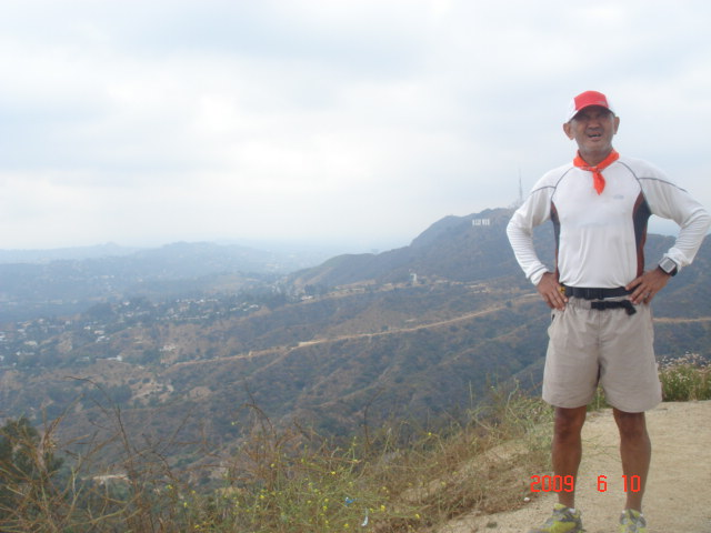HOLLYWOOD Sign at The Background