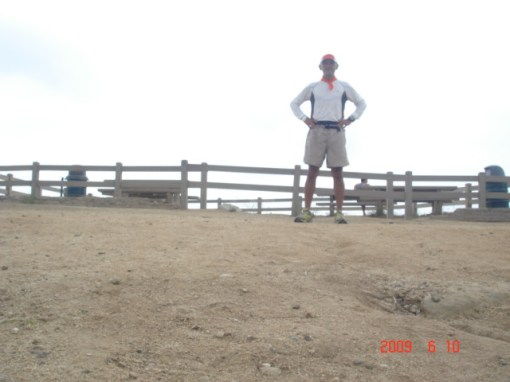 Finally, A Pose at Dante's Peak