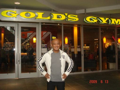 A Pose @ Gold's Gym (7th & Fig) Los Angeles