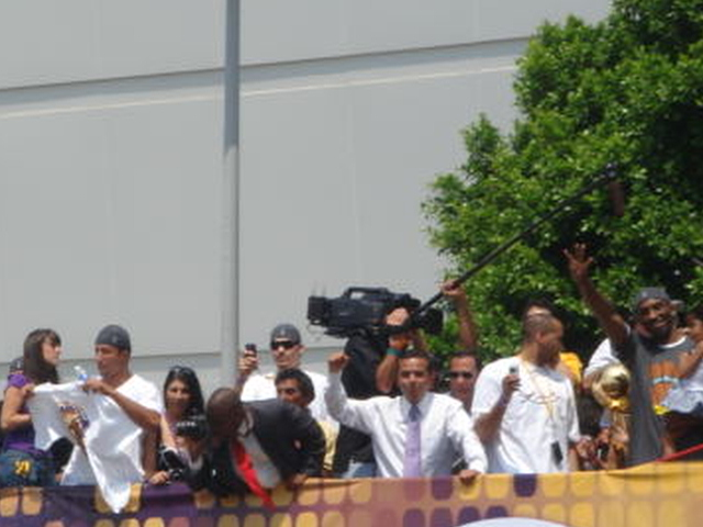 Glimpse of Kobe On the Right Side