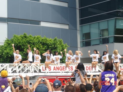 LA Lakers Dancers & Cheering Ladies (?)