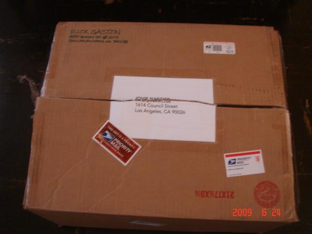 Box From Rick Gaston