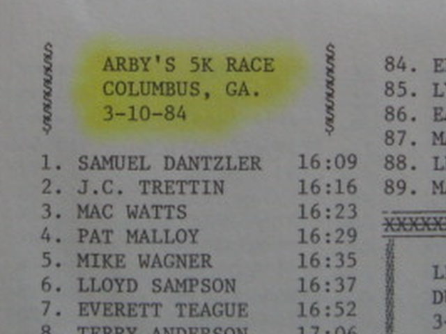 The 1st Runner Was 3 Minutes Faster!