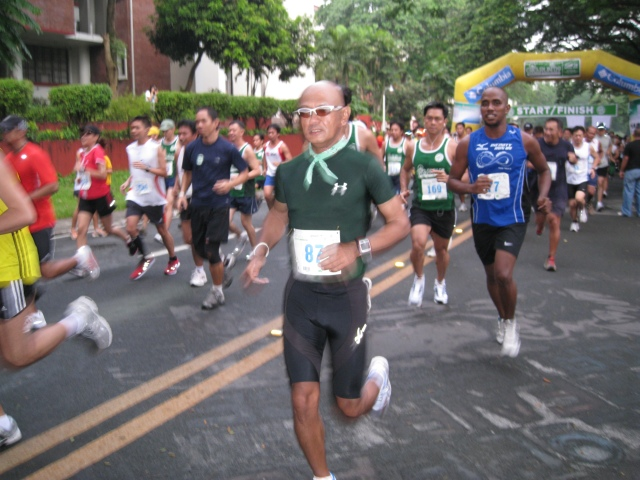 At the Start of the Race