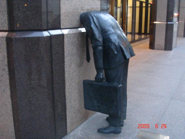 """""""Corporate Head"""" @ Fig+7th Building in LA"""