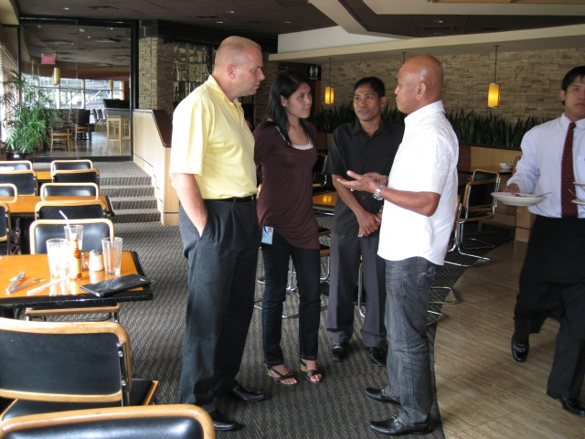More Exchange of Ideas After Lunch