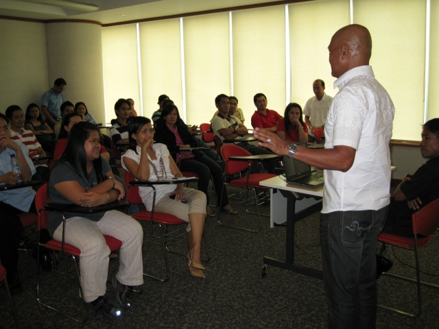 Around 40 staff & employees attended the lecture.