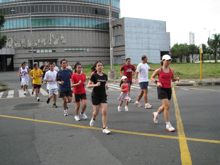 2-Km Run Along the Roads of Filinvest City